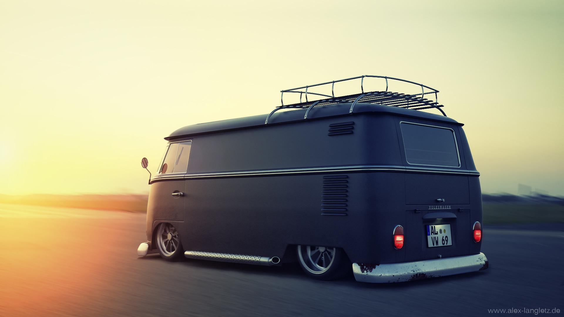 Alex langletz custom vw bus