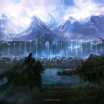 Nele diel kingdom s border
