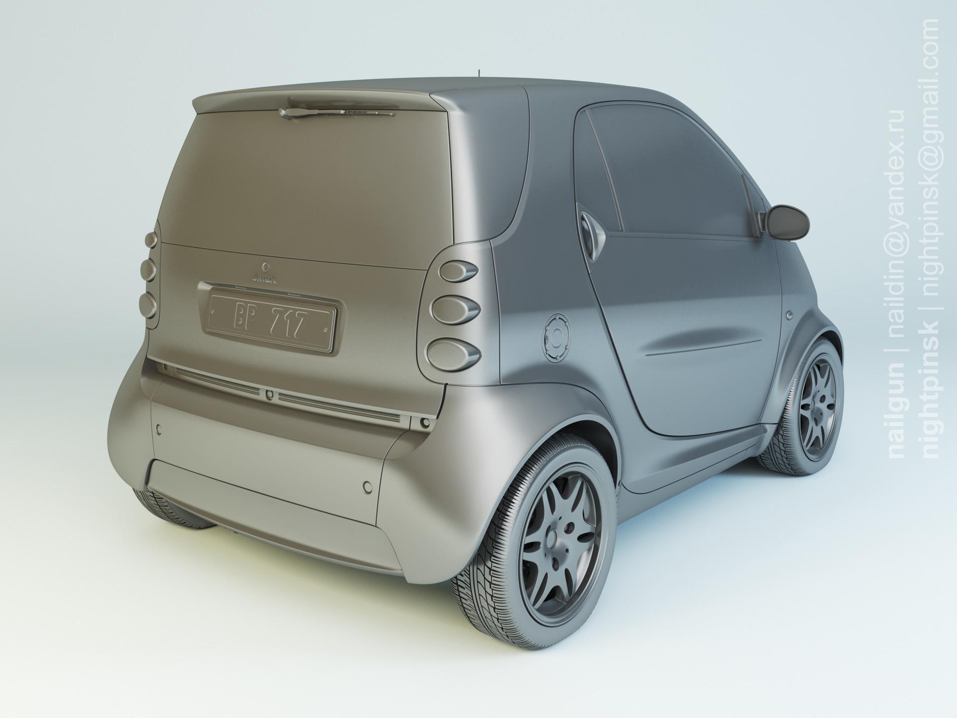 Nail khusnutdinov pwc 045 001 smart fortwo modelling rgb color 0001