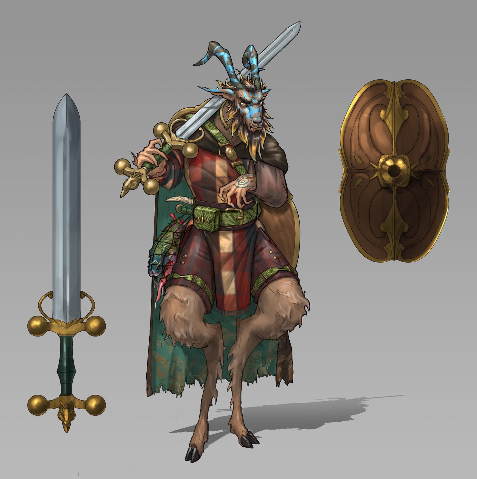 Goat Swordsman