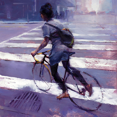 Sean hsiao cyclist blues