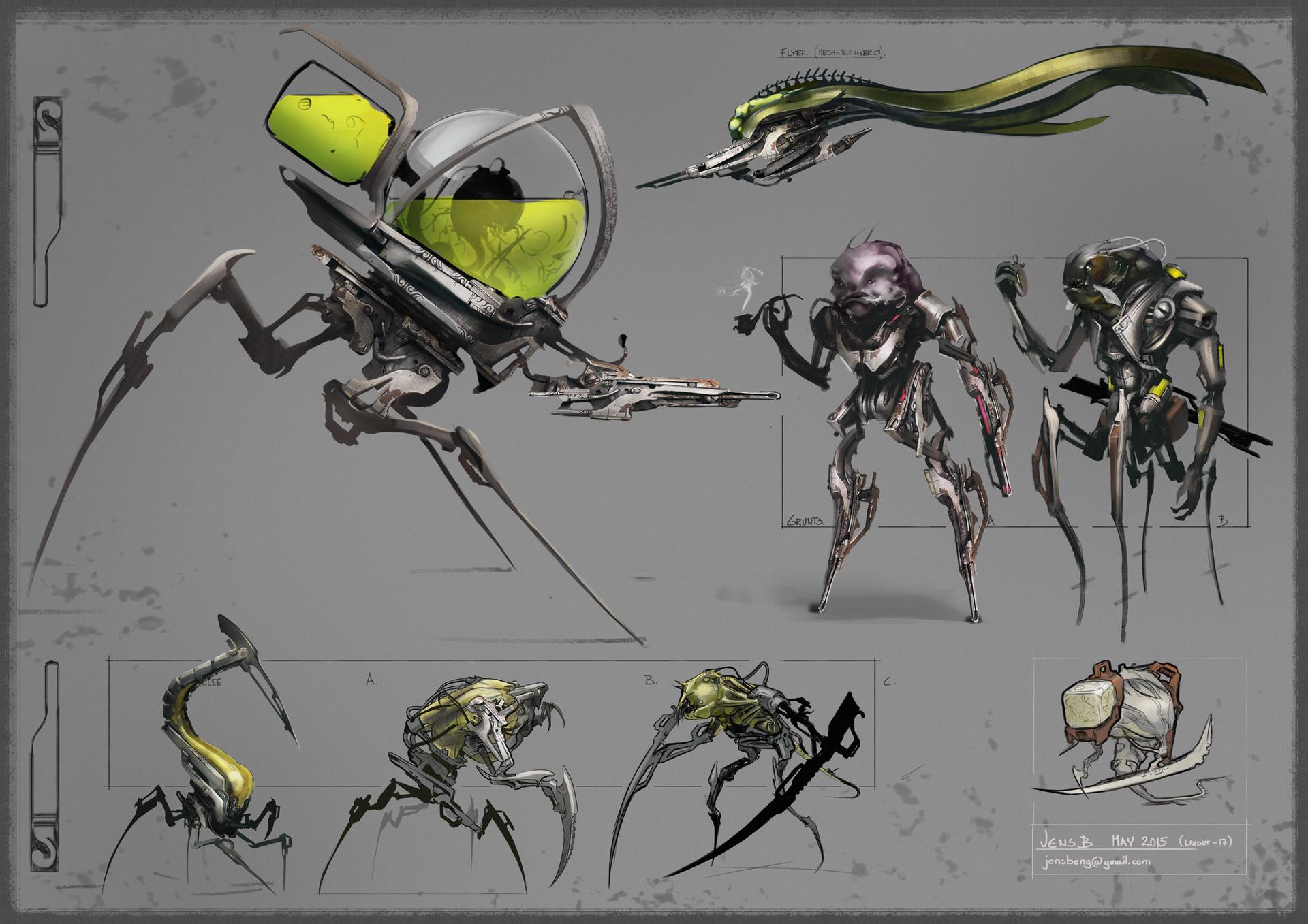 Jens bengtsson alientechenemies