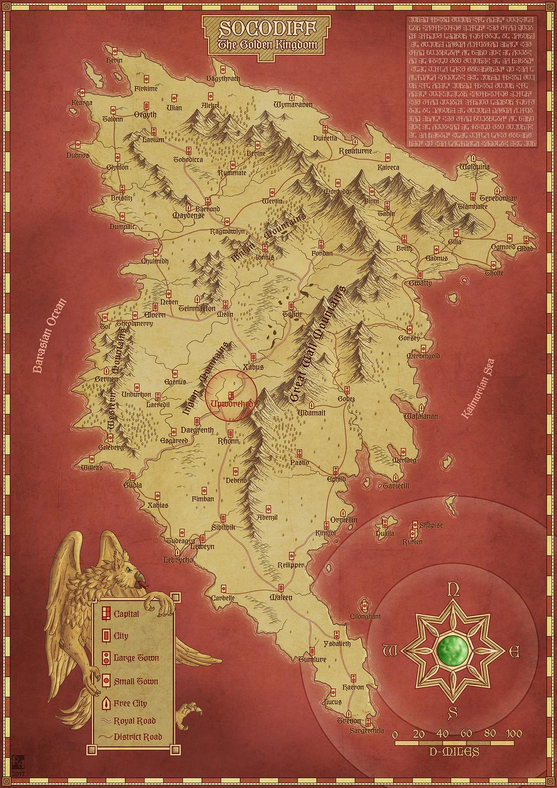 Socodiff - The Golden Kingdom