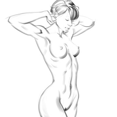 Mike capprotti anatomy sketches 02