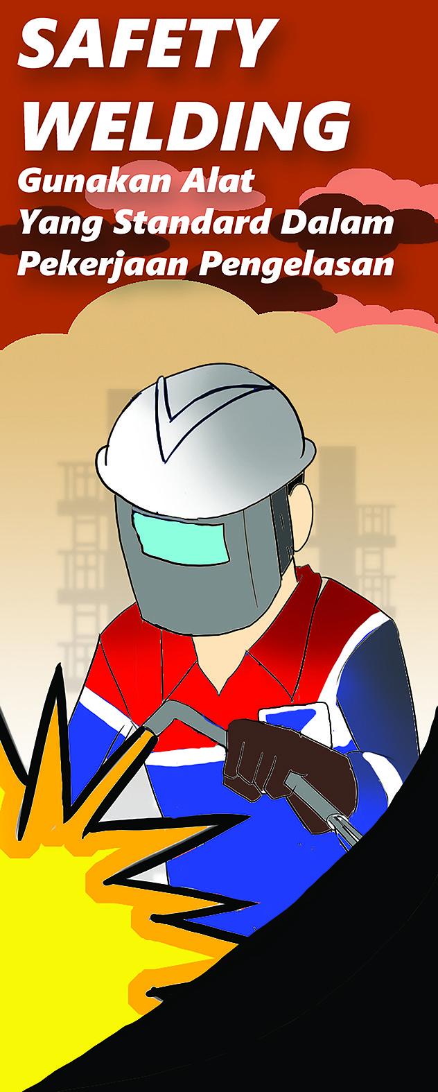 Putra wira adhiprajna pertamina safety welding