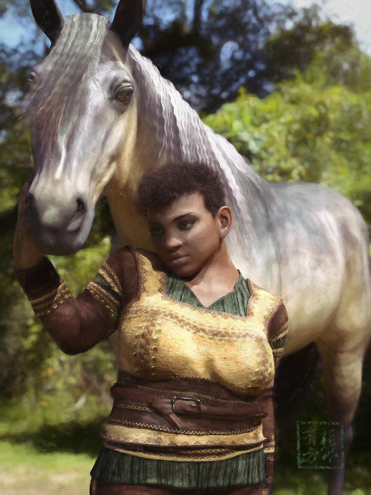 Dwarf Horsehandler