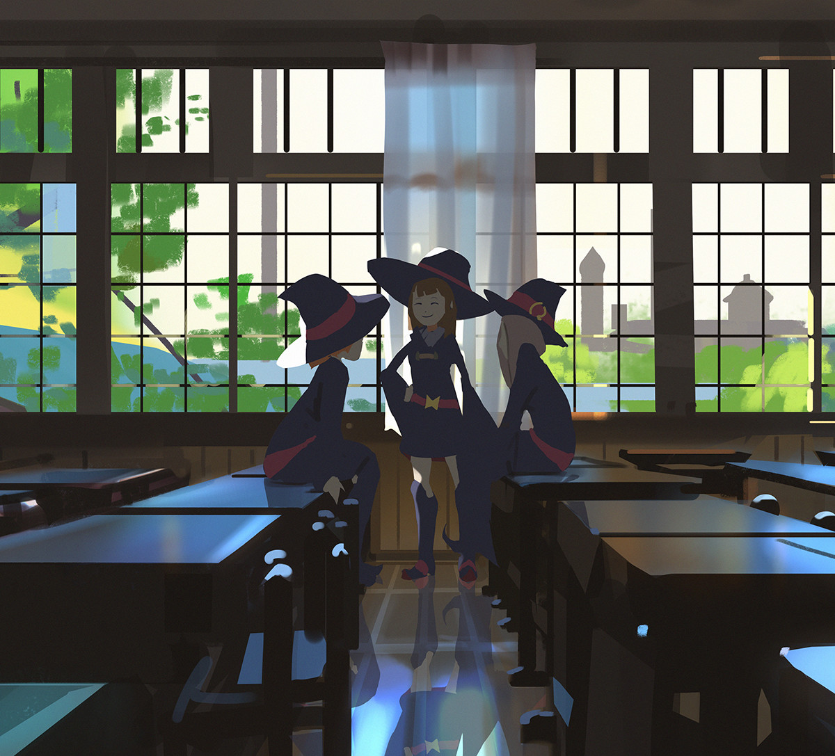 Atey ghailan little witch academia