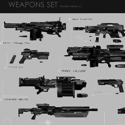 Marcin rubinkowski marcin rubinkowski weapon set x small 2 1