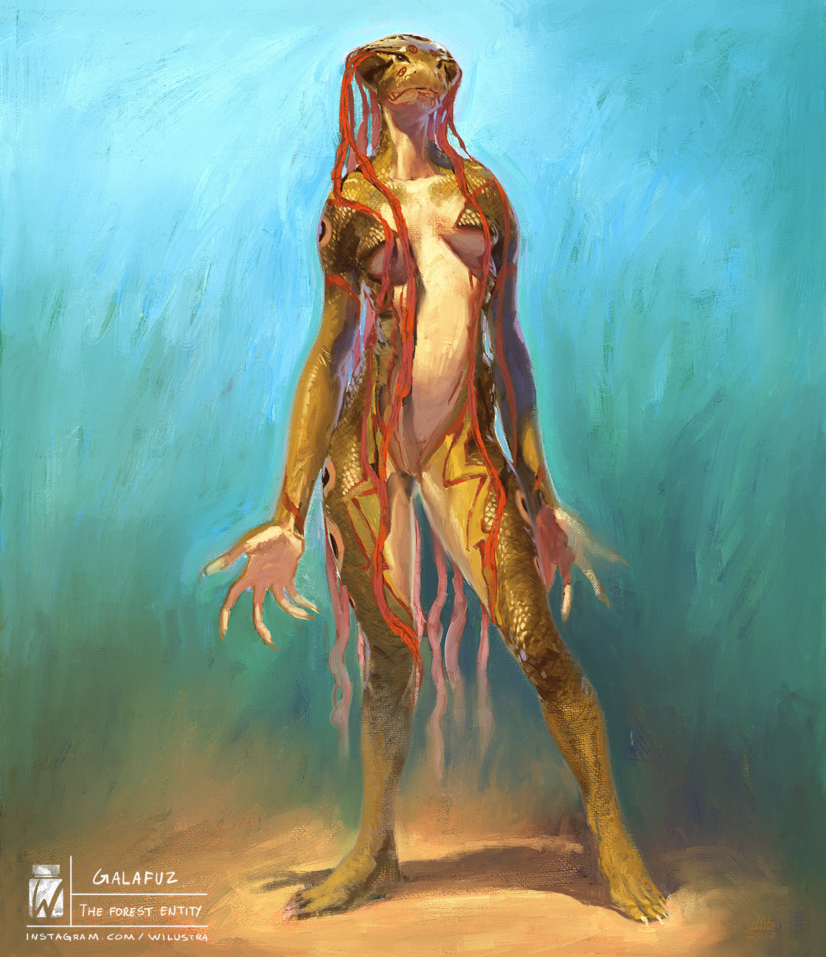 Galafuz the forest entity