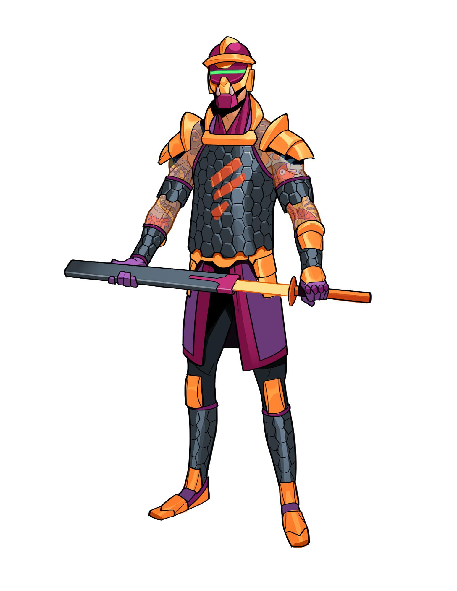 Cole marchetti bountyhunter samurai