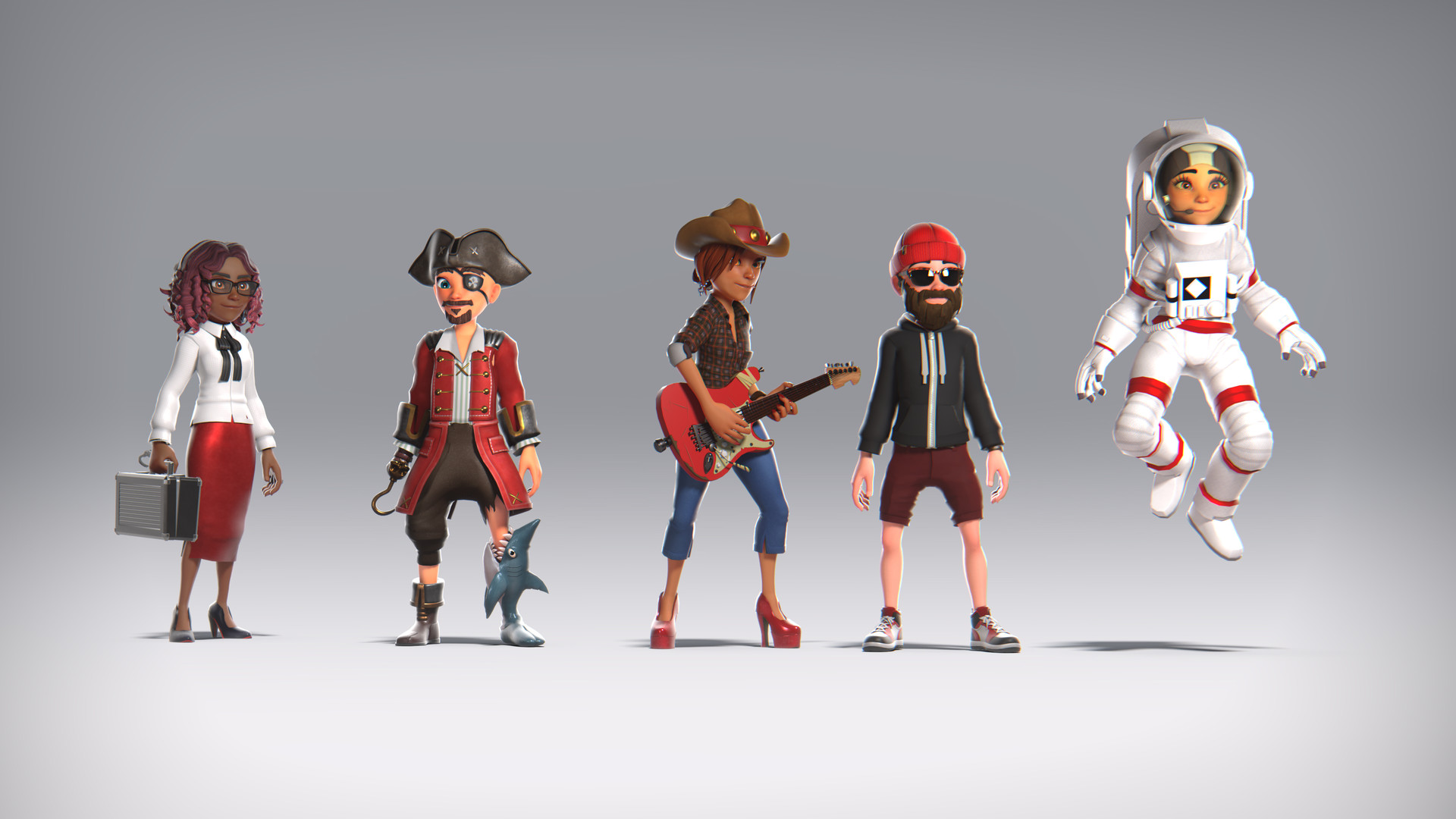 Xbox Avatars E3 Unveil