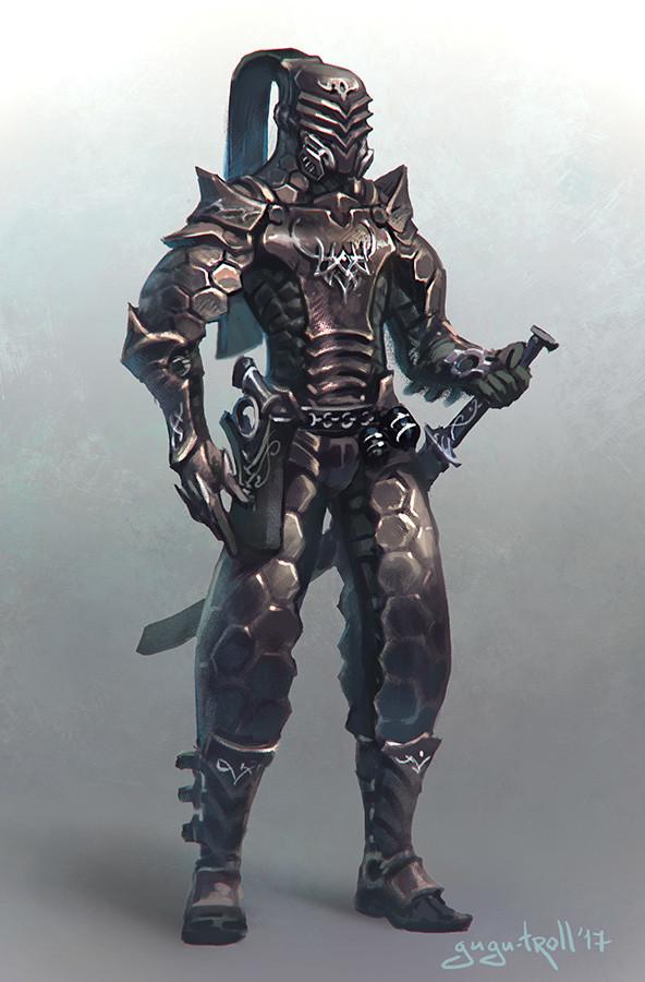 Warrior of high-ones