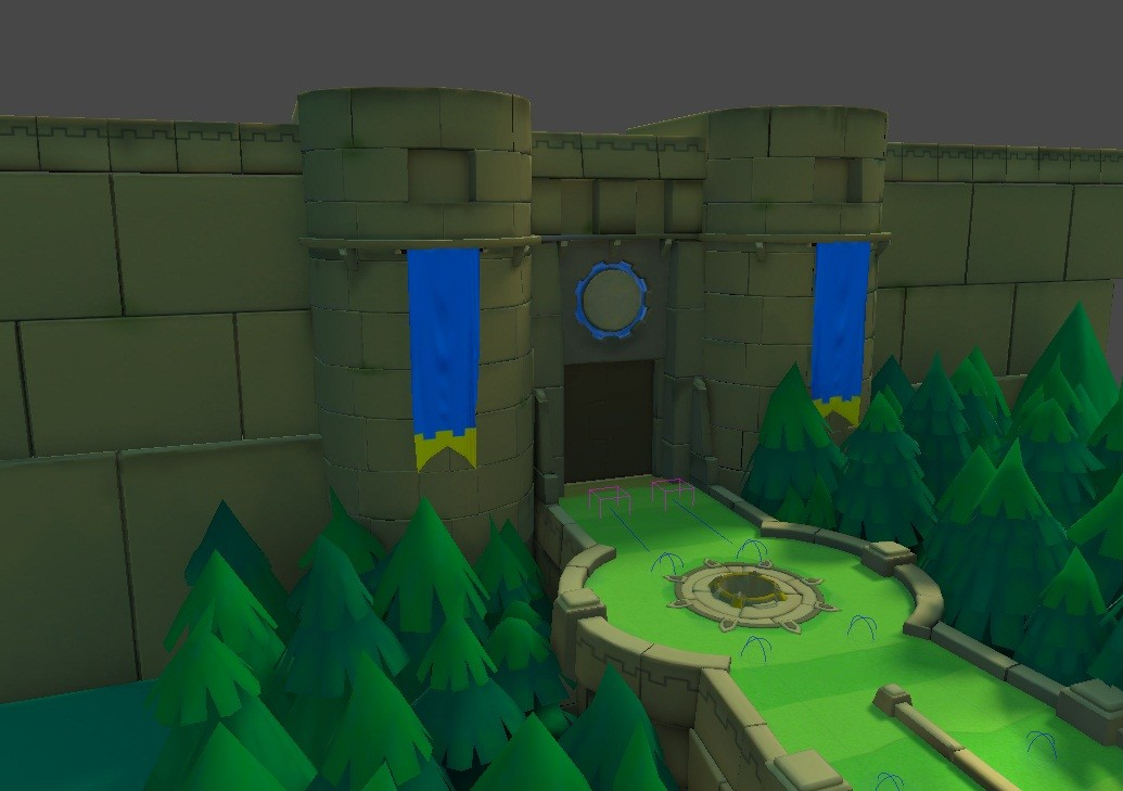 Castle Arena alpha 2