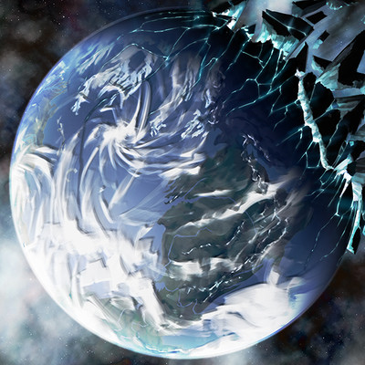 Anthony rubier peinture planete 2
