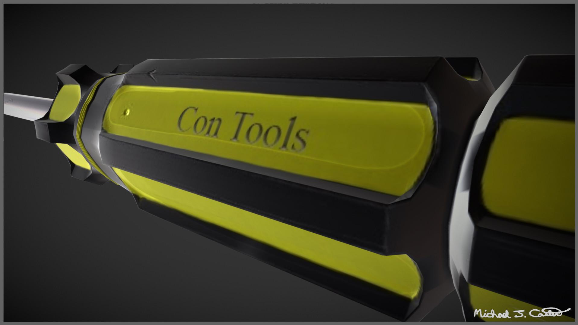 Michael jake carter mcarter screwdriver close up image