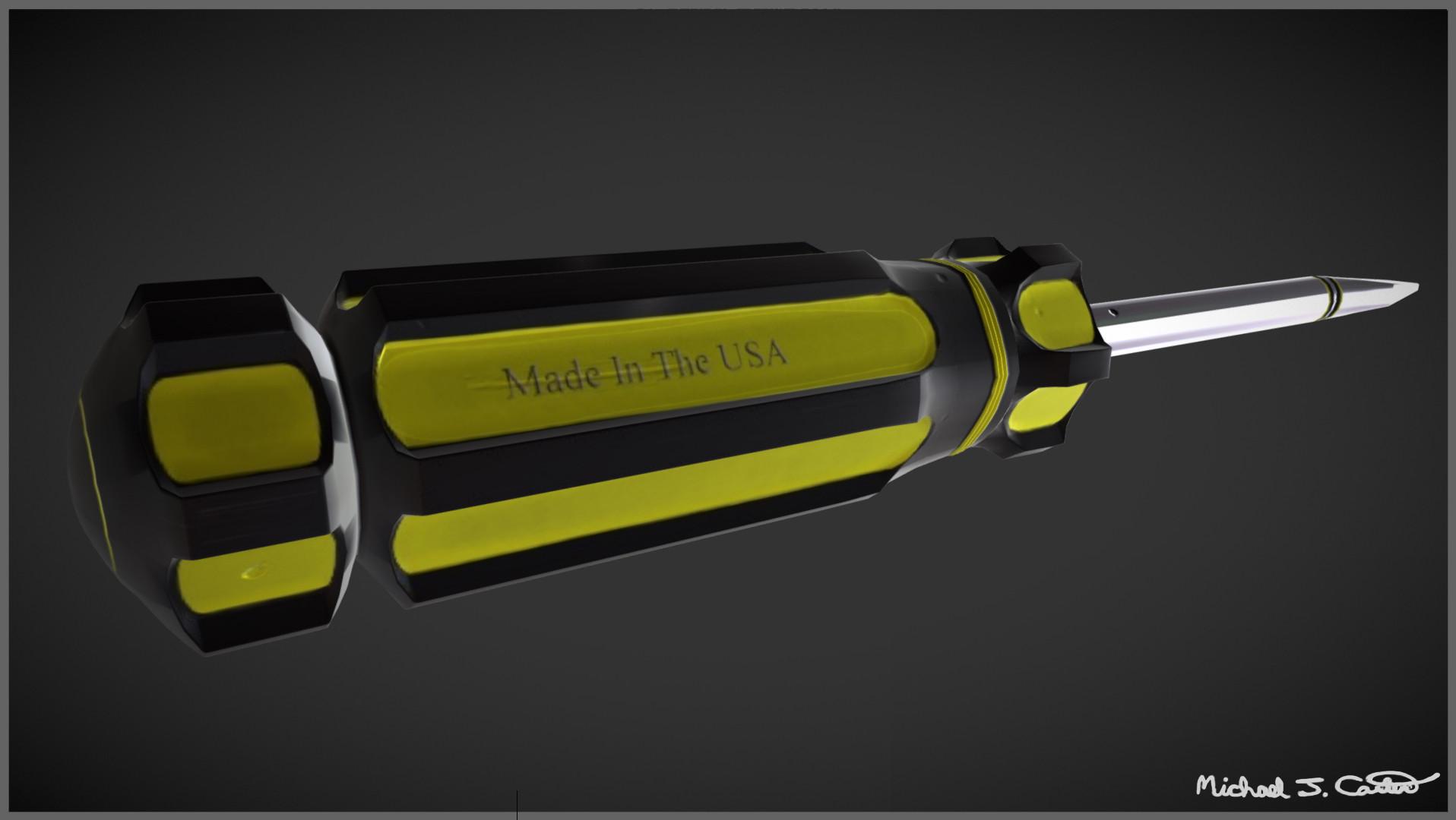 Michael jake carter mcarter screwdriver right side image