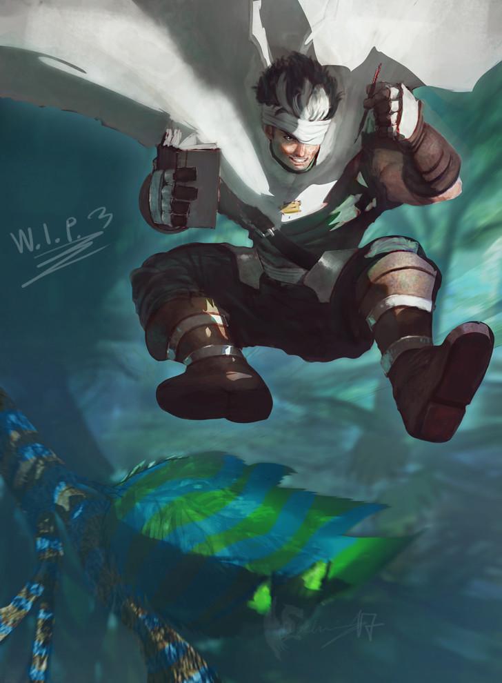Wan's Odysee - WIP 3