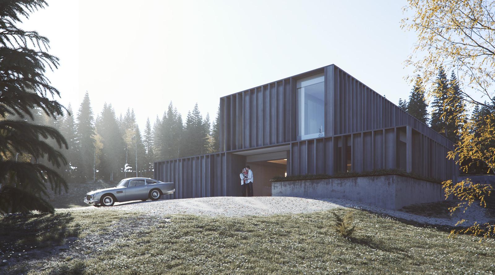 Carey House Remake - Exterior