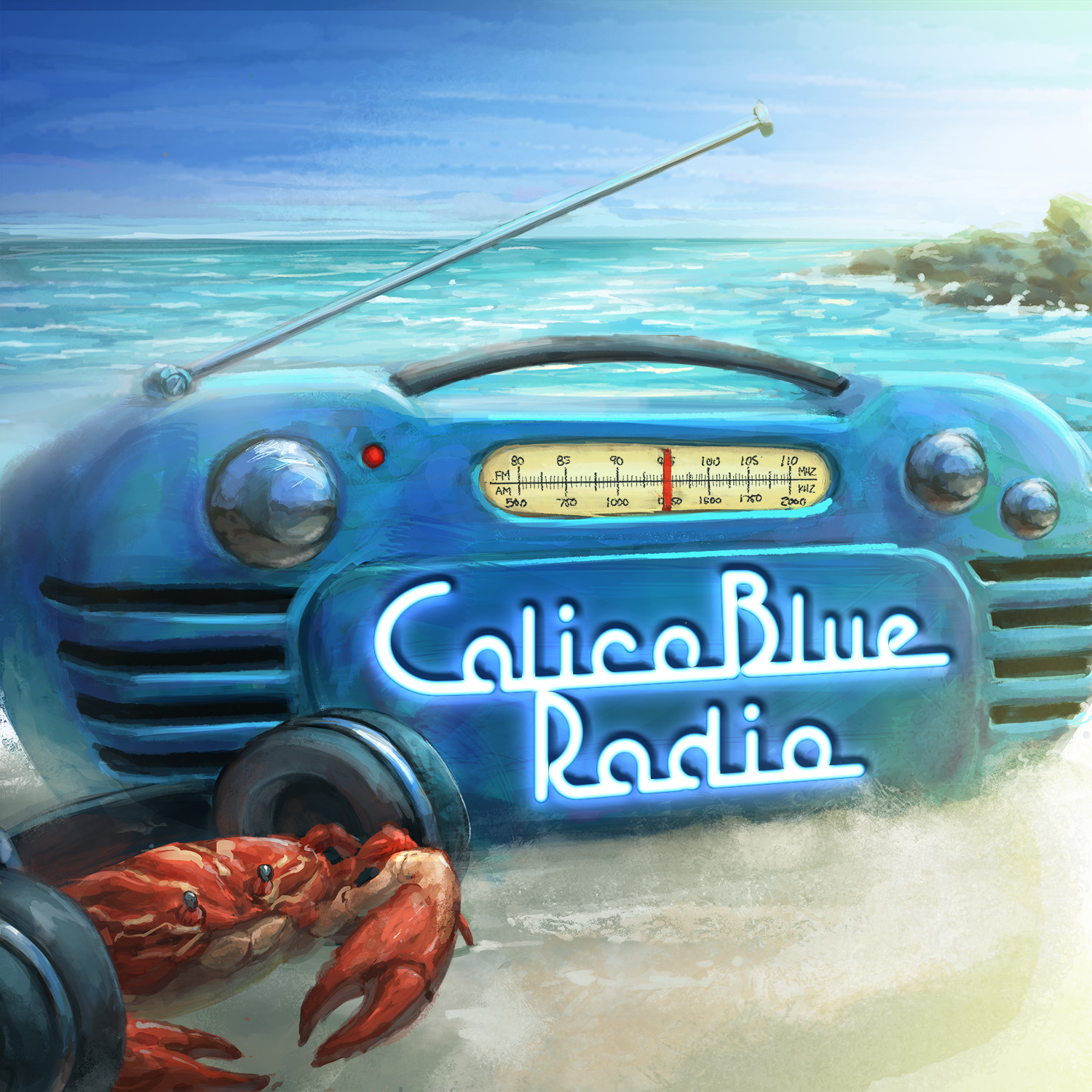 Calico Blue Radio