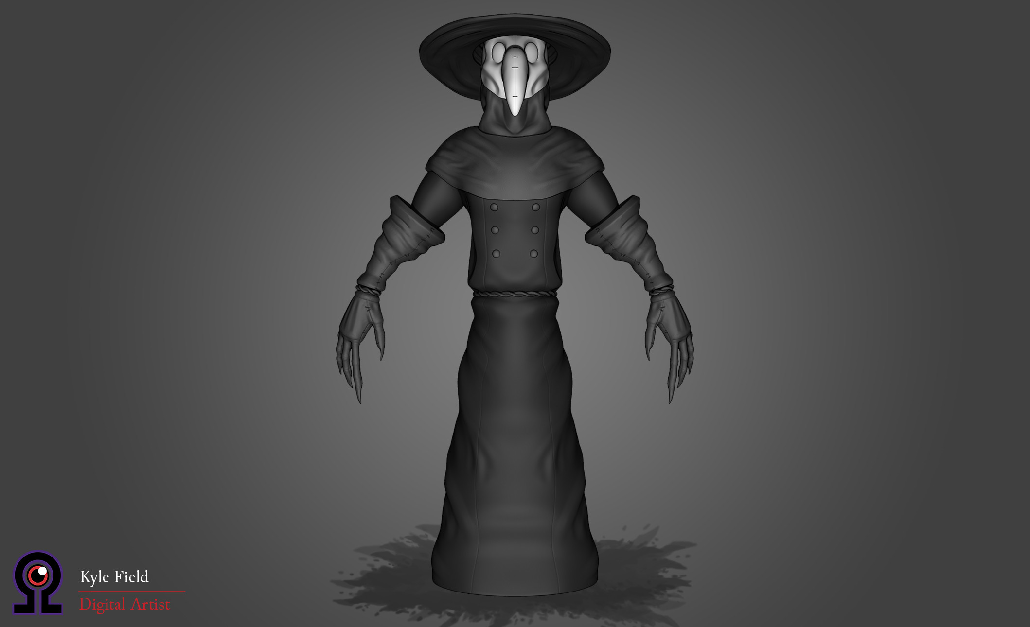 Plague Doctor: Front View