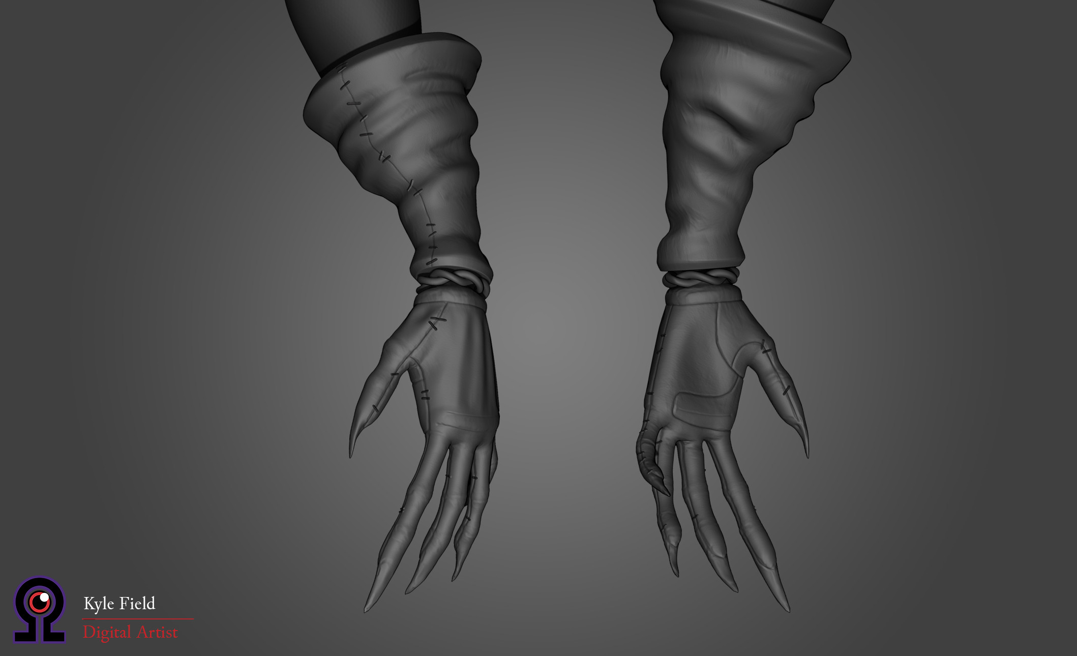 Plague Doctor: Hand Detail