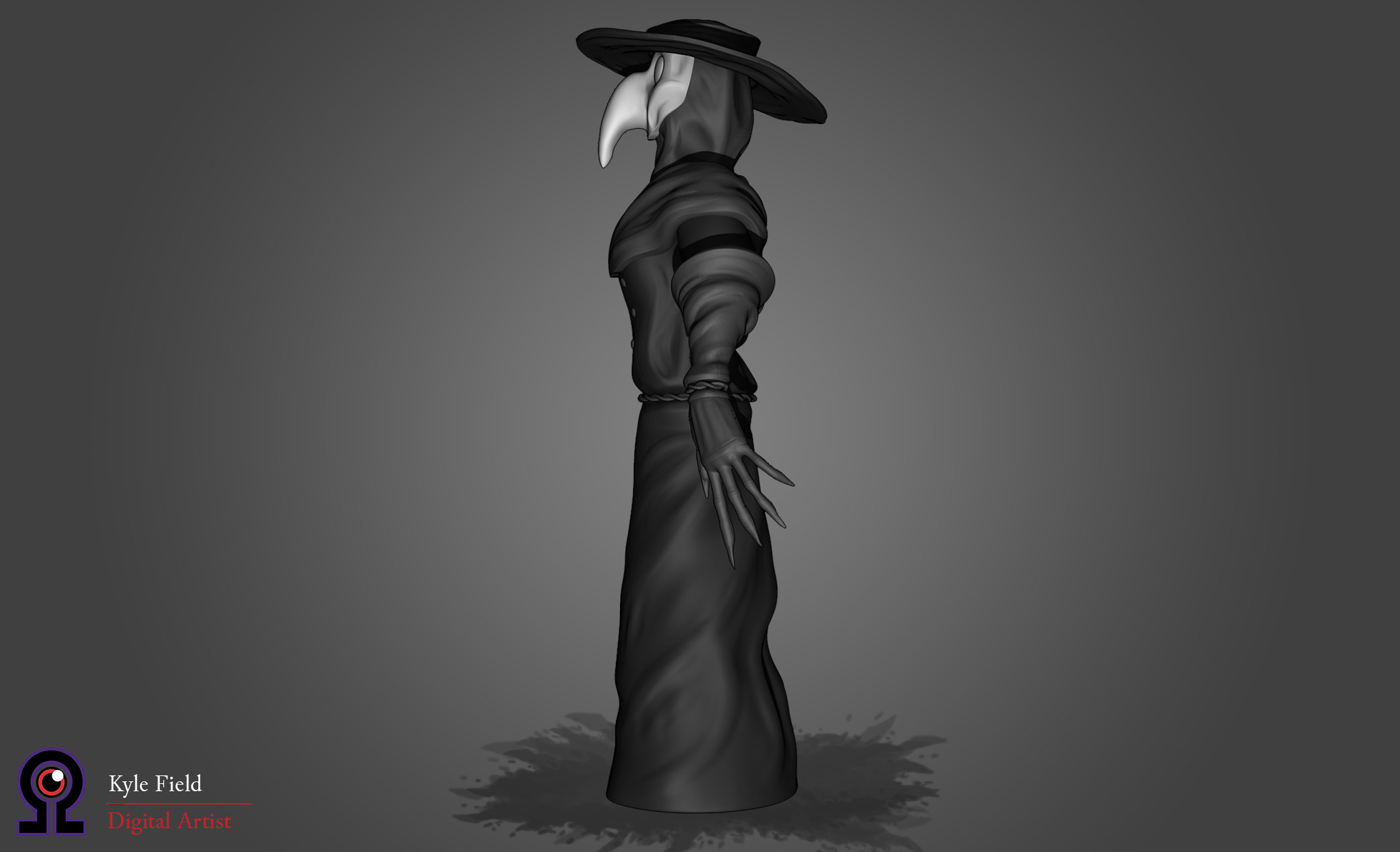 Plague Doctor: Side View