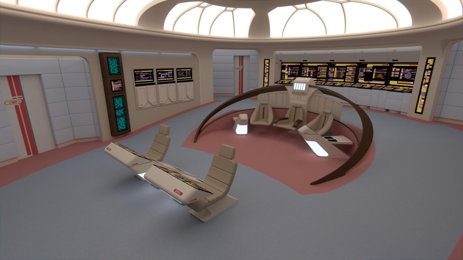 USS Quasar Bridge