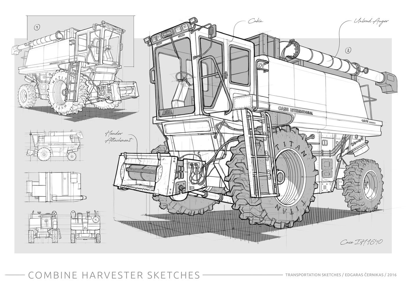 Edgaras cernikas transportation sketches combine harvester 1400x990