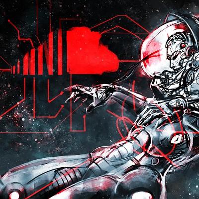 Atom cyber atom cyber cosmonaut infini