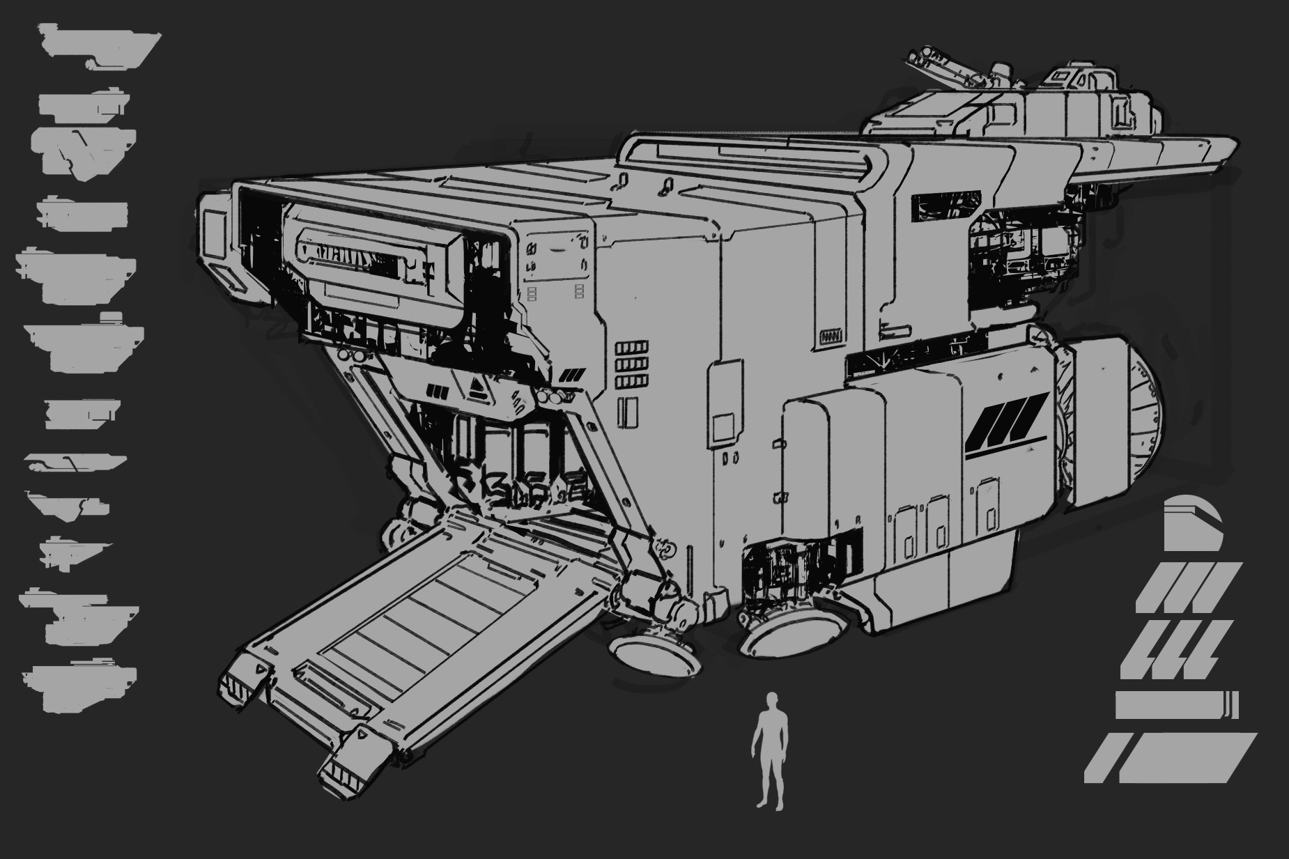 Alex thomas transport ship