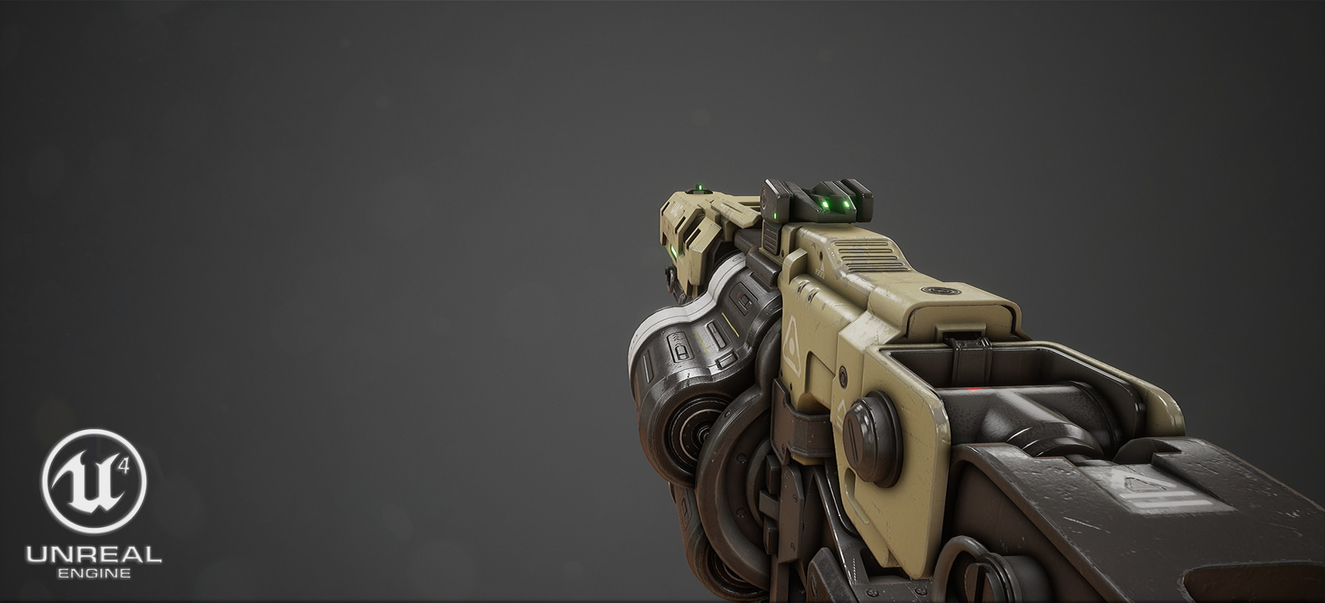ArtStation - Doom 4: Grenade Launcher | Game Ready Hard