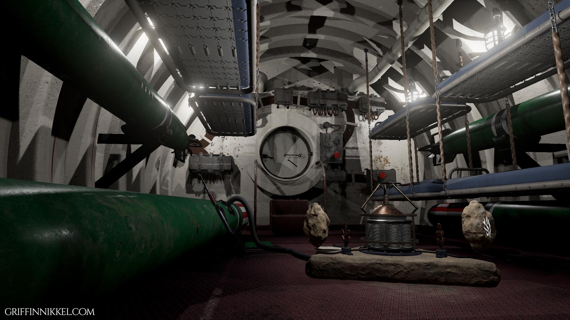 Lovely Griffin Nikkel Submarine 1