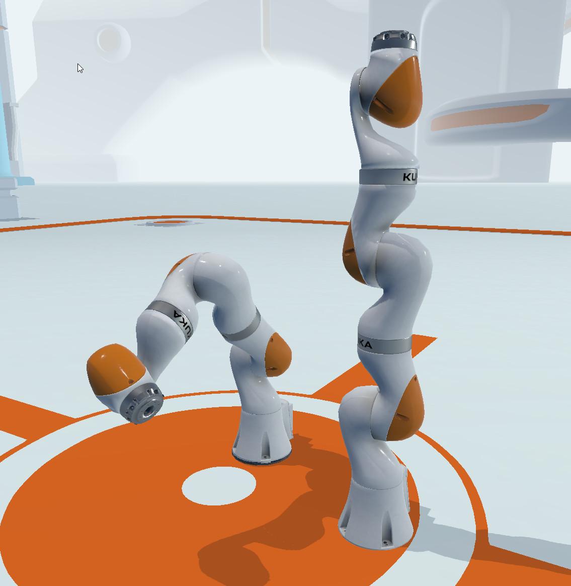 Fully functioning Kuka Robot Arm 25k tris, 1024 texture