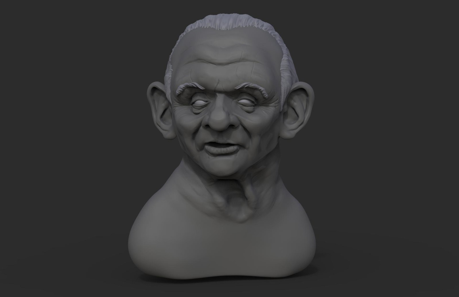 WIP Anthony Hopkins Caricature