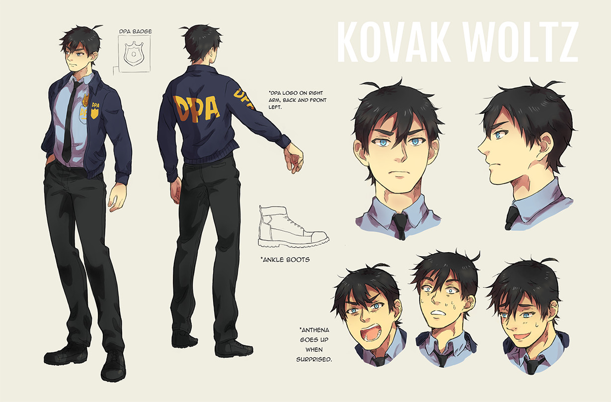 Kovak Character Sheet