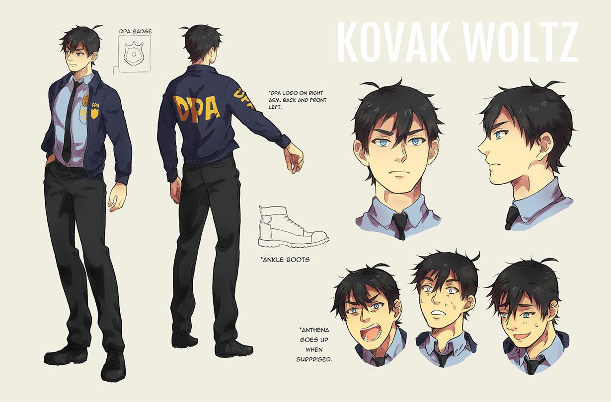 Kovak Character Sheet