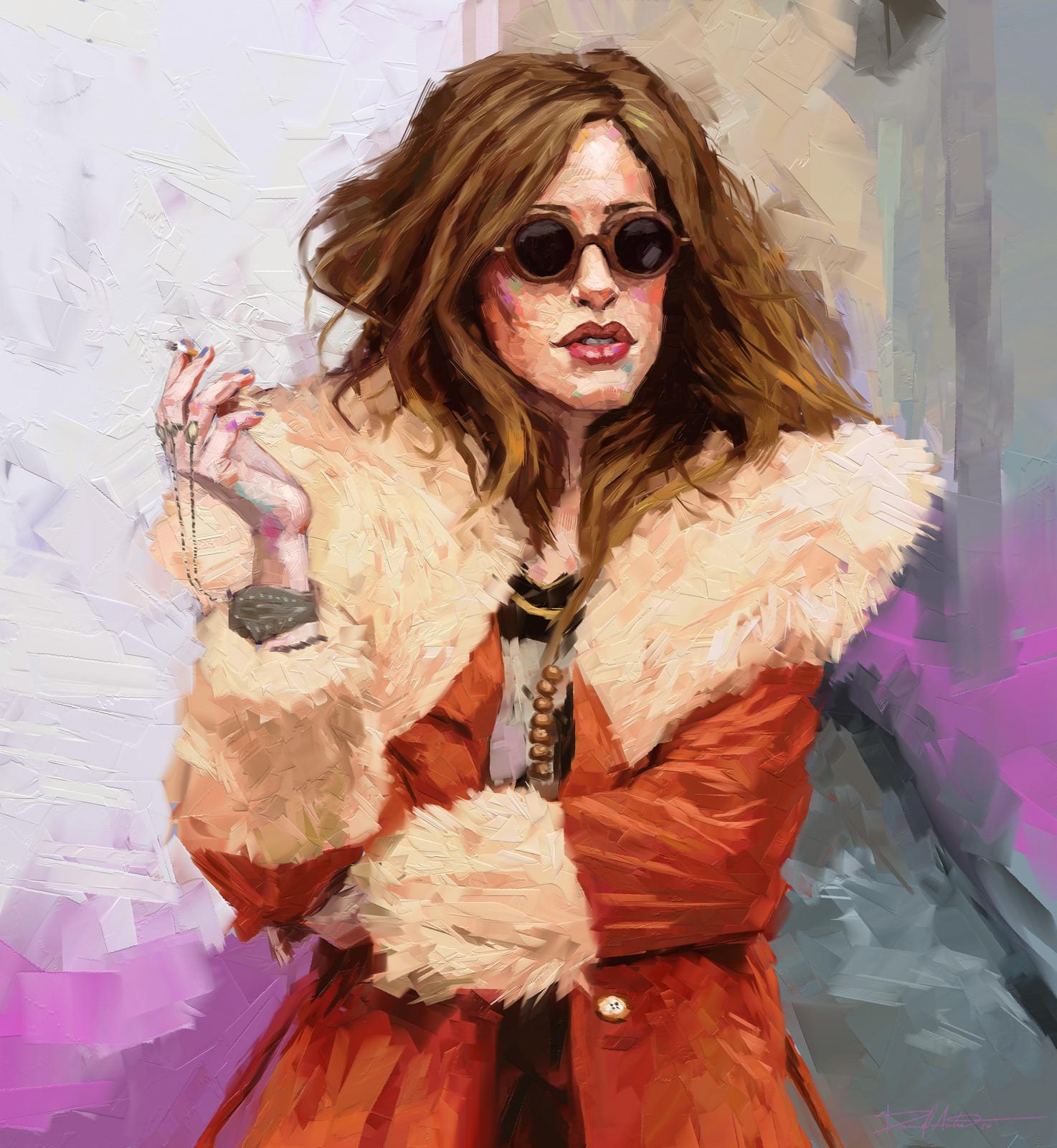 Darlene - Portrait