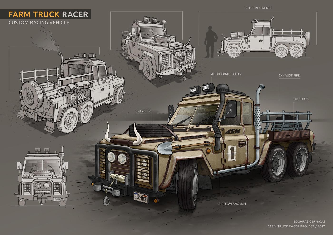 Edgaras cernikas farm truck racer main 1400x990