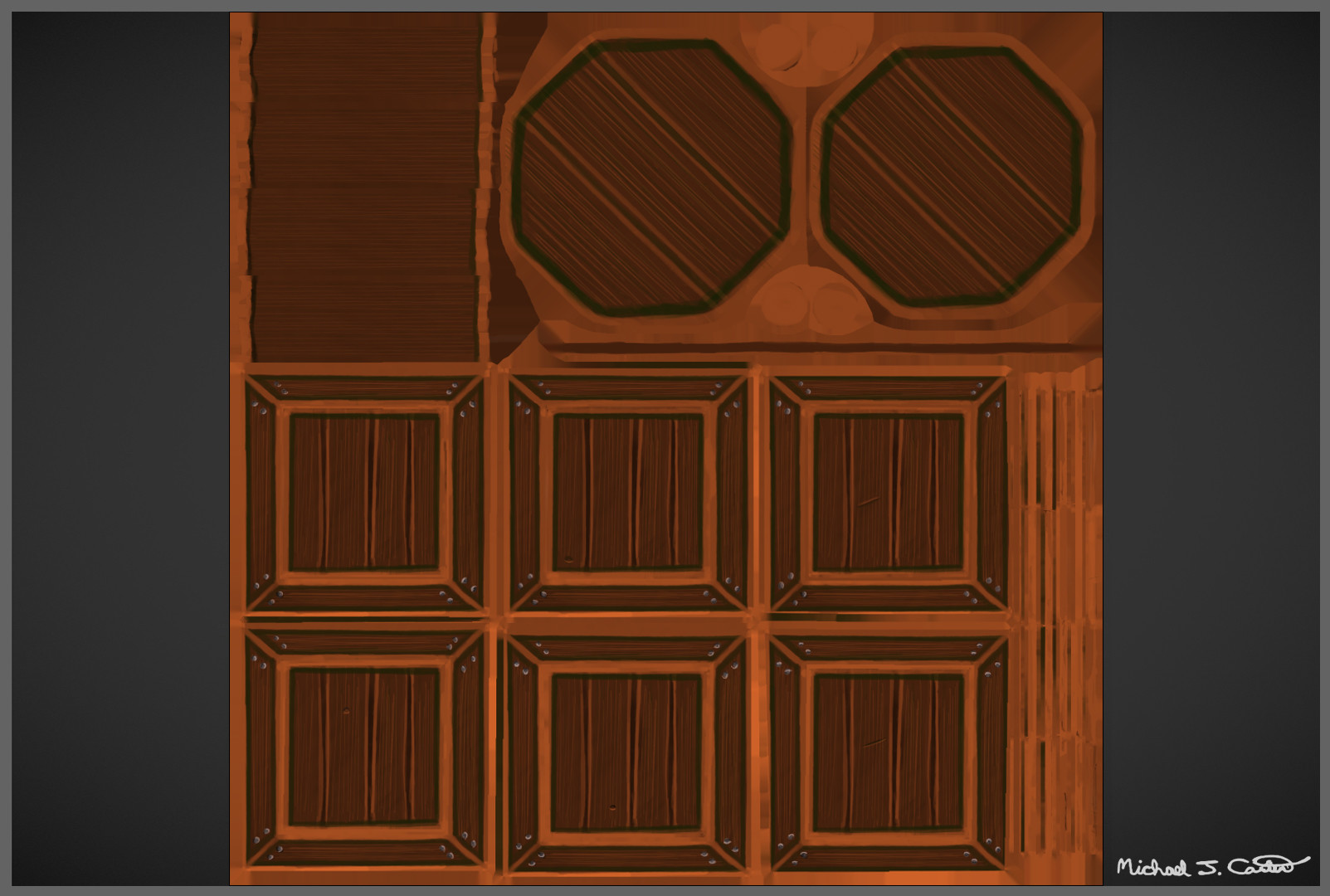 Michael jake carter mcarter wood assets texture maps image