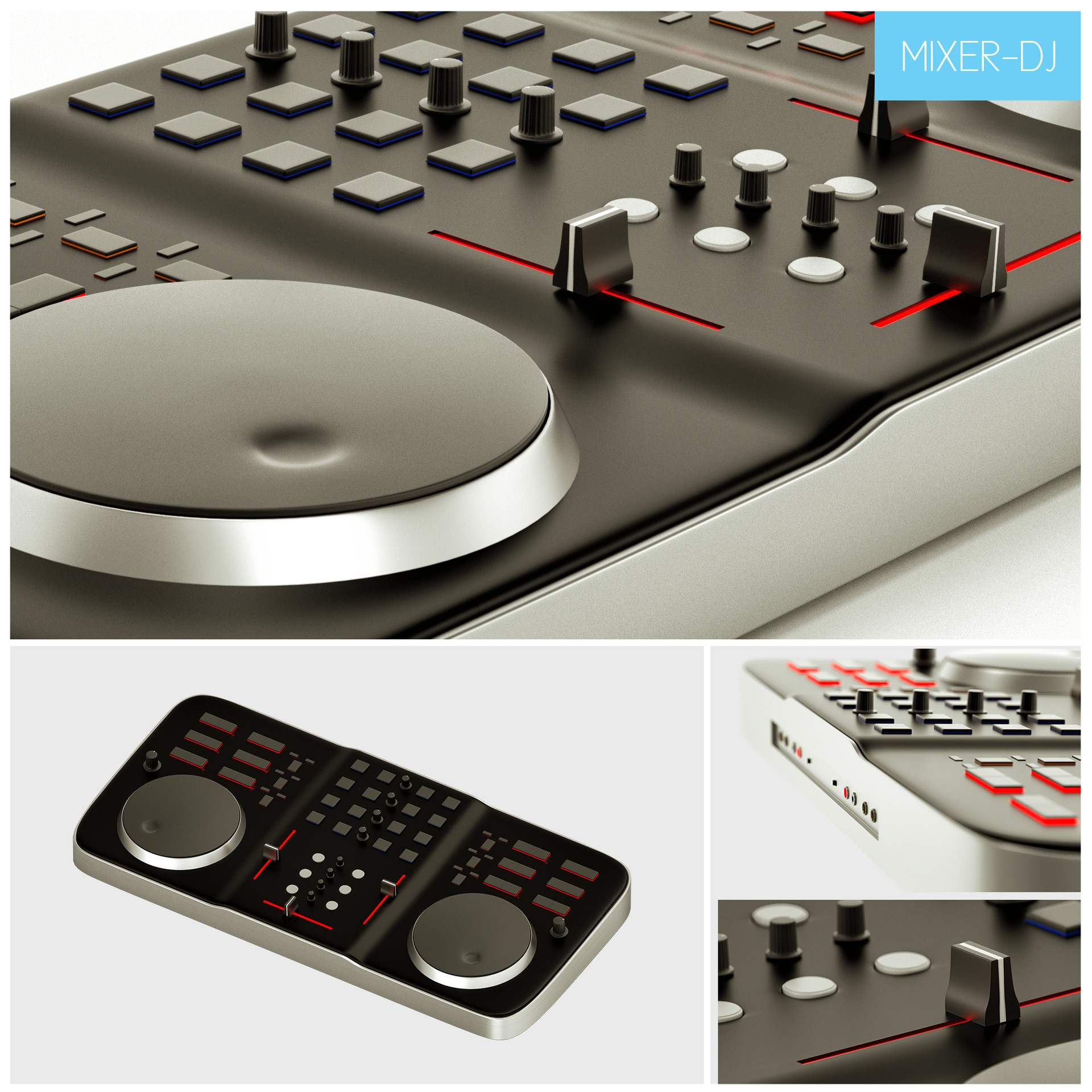 Marco baccioli electronic vol1 mixer dj