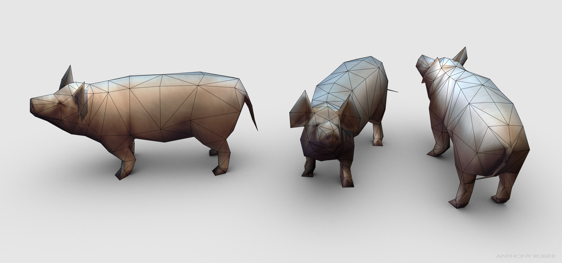 Anthony rubier render mesh porc 2