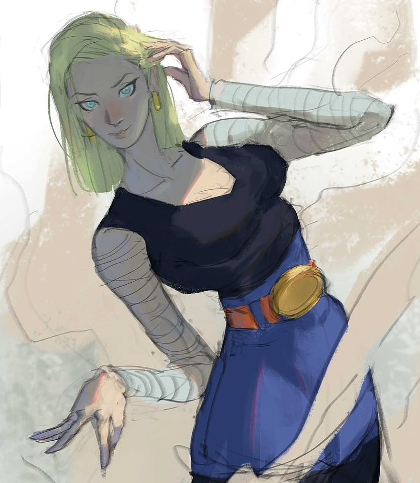 Android 18! right in my childhood