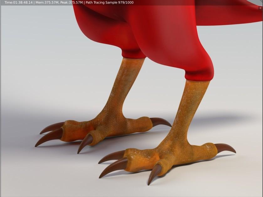 Proper Bird Feet (SSS is crucial!)