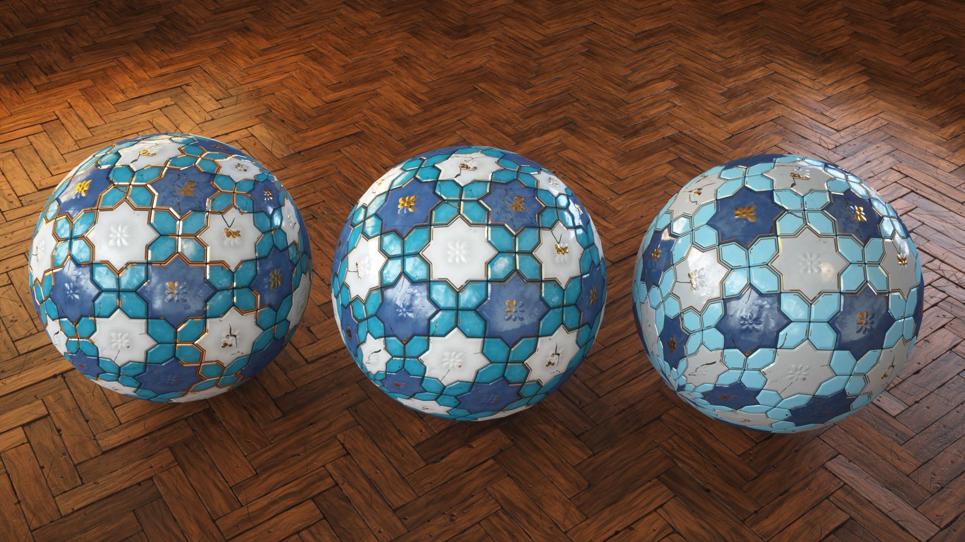 Krzysztof szrama floor tiles variations
