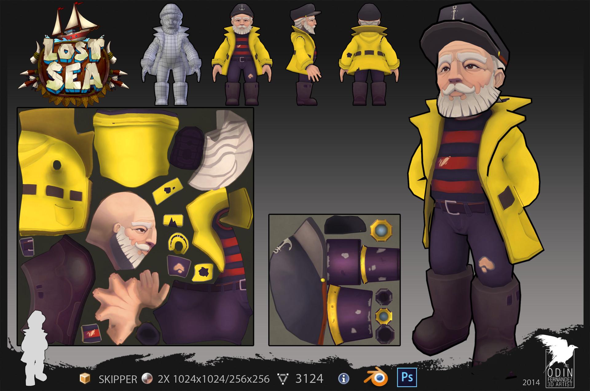 Odin fernandez moreno skipper