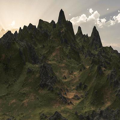 Tolga aksu mountain