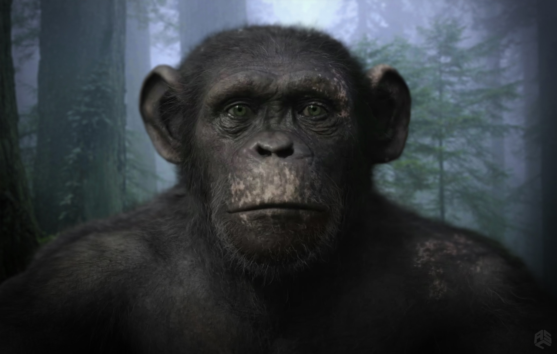 aaron sims creative war for the planet of the apes concept art
