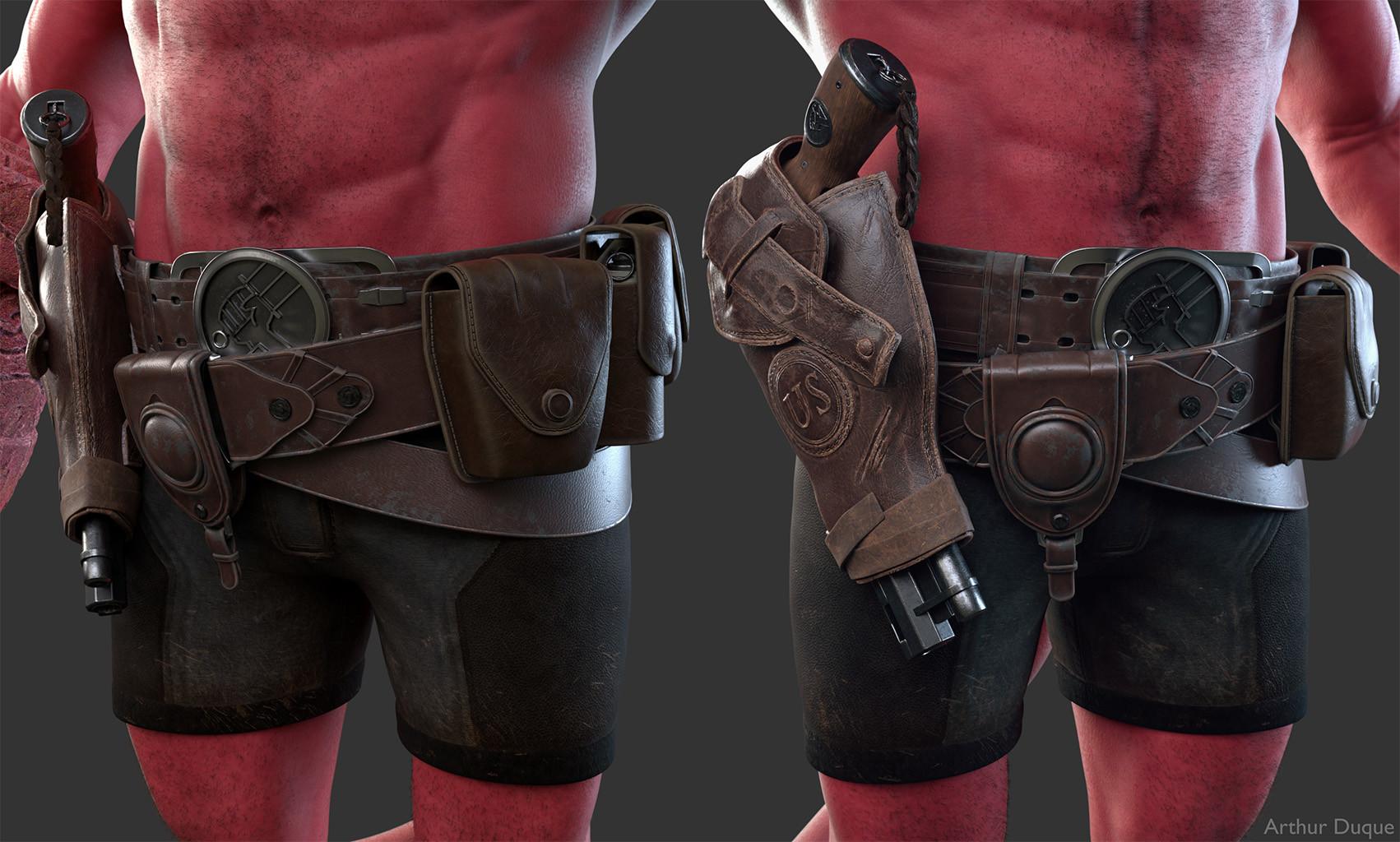 Arthur duque hellboy cinto 01