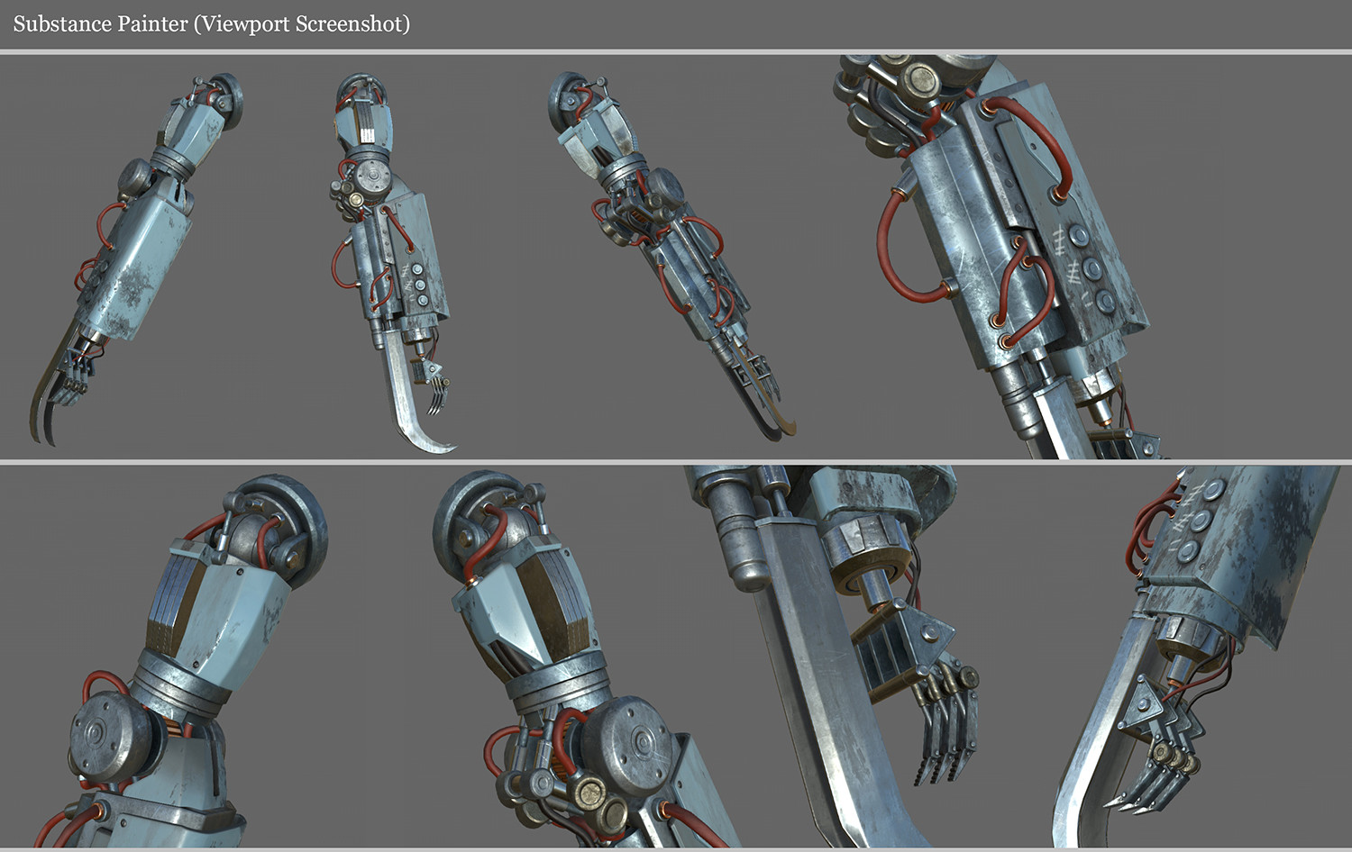 RoboArm Substance Painter