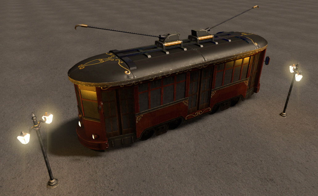 Singer ko singer gaslight traincar